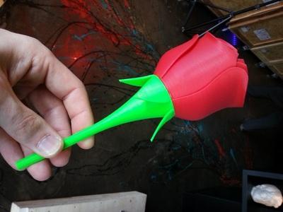 超级玫瑰-3d打印模型