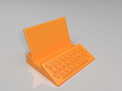 多类型手机、平板 支撑架-3d打印模型