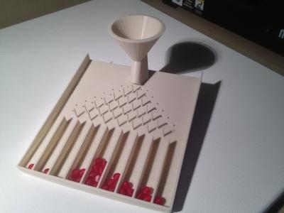 高尔顿板-3d打印模型