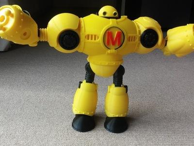 make机器人-3d打印模型
