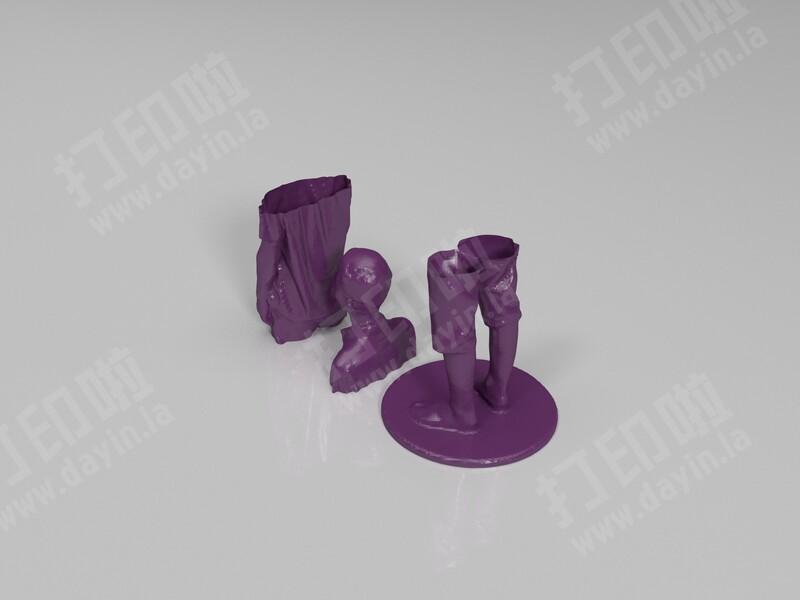 人头-3d打印模型