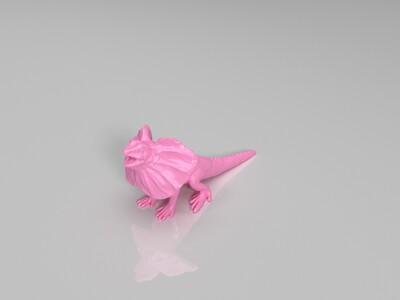 伞蜥-3d打印模型