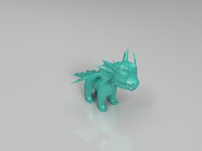q版恐龙-3d打印模型