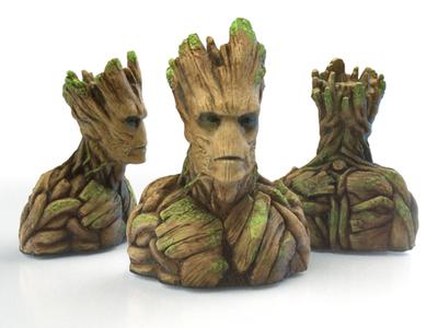 树人格鲁特-银河护卫队-3d打印模型
