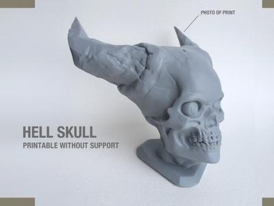 恶魔头骨-3d打印模型