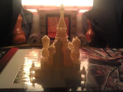 圣巴西尔大教堂-3d打印模型