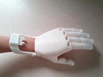机械手-3d打印模型