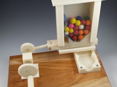 手摇糖果机-3d打印模型