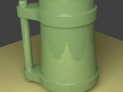 老酒杯-3d打印模型