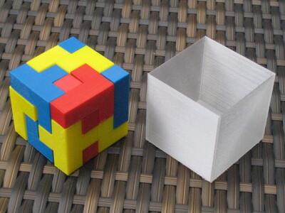 立方体拼图-3d打印模型