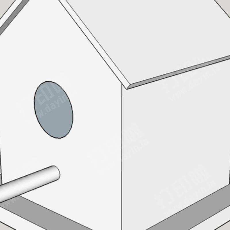 小鸟屋 stl下载 - 特殊建筑