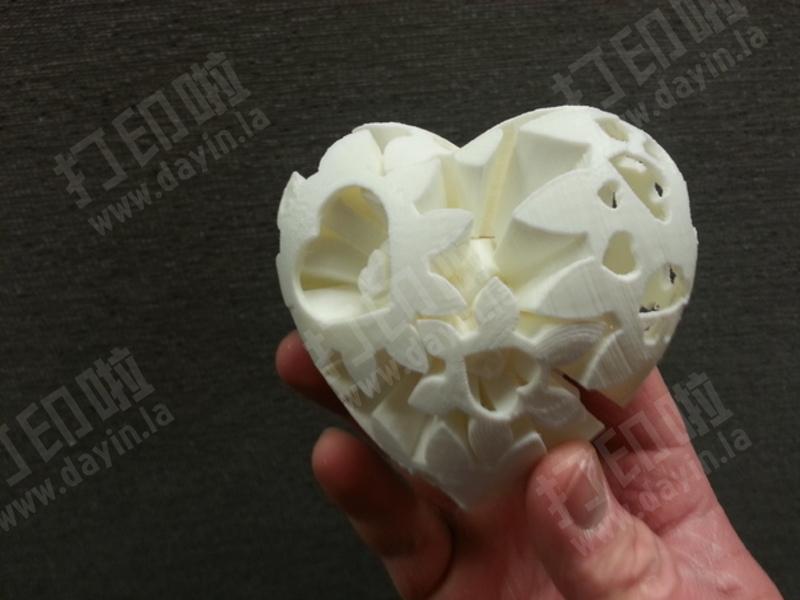 齿轮心脏-3d打印模型