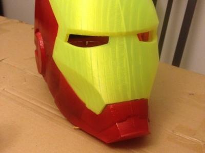钢铁侠头盔-3d打印模型