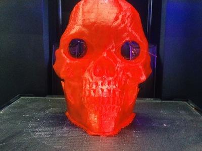 骷髅面具-3d打印模型