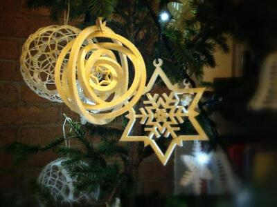 陀螺圣诞饰品