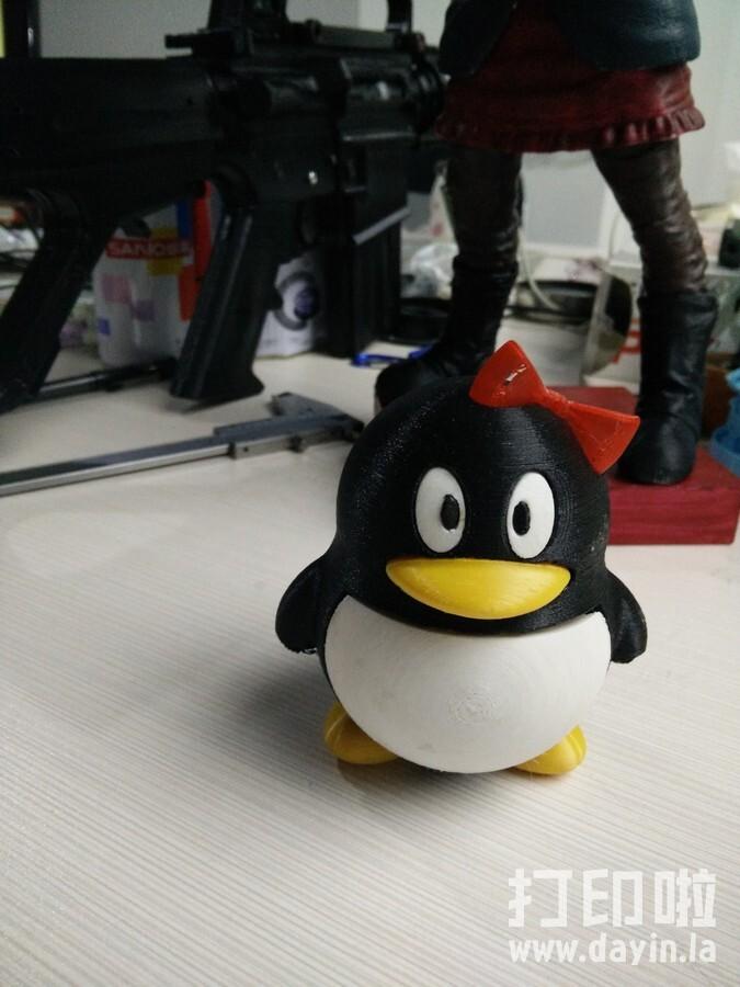 宠物企鹅-雌-3d打印模型