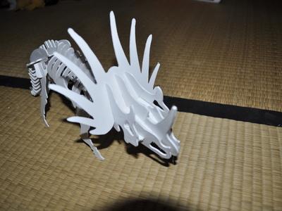 三角龙恐龙3D拼图-3d打印模型