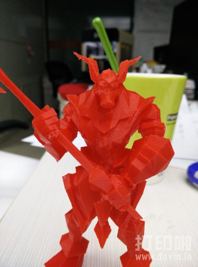 沙漠死神-阿兹尔-英雄联盟-3d打印模型