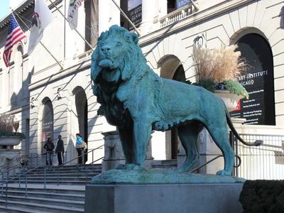 狮子-芝加哥艺术学院-3d打印模型