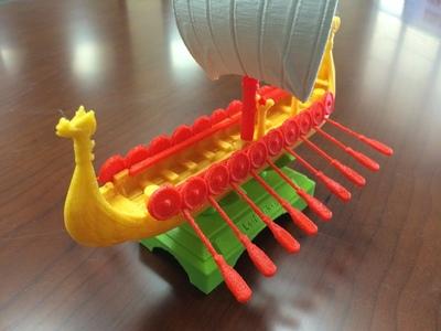 赛龙舟-3d打印模型