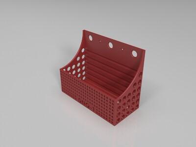 壁挂式盒子-3d打印模型