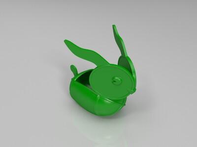 原创 兔子灯-3d打印模型