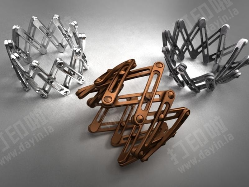 膨胀手镯-3d打印模型