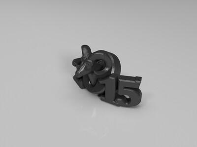 原创 2015羊-3d打印模型