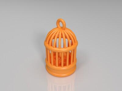 鸟笼-3d打印模型