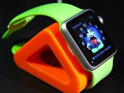 苹果手表充电底座-3d打印模型