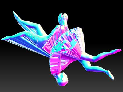 人体艺术-3d打印模型