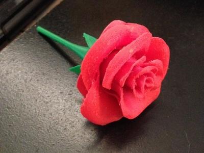玫瑰-3d打印模型