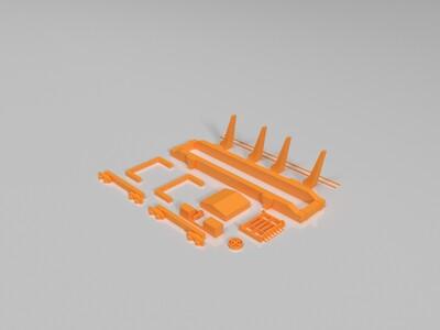 龙门吊-3d打印模型