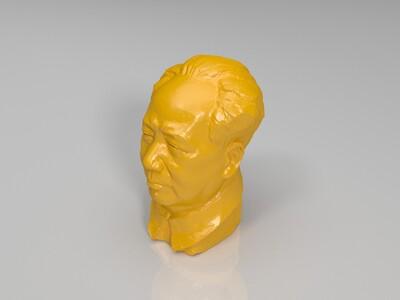 毛泽东-3d打印模型
