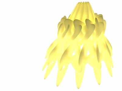 艺术灯罩-3d打印模型