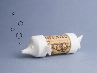 软木小鱼-3d打印模型