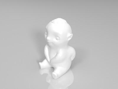 胡巴-3d打印模型
