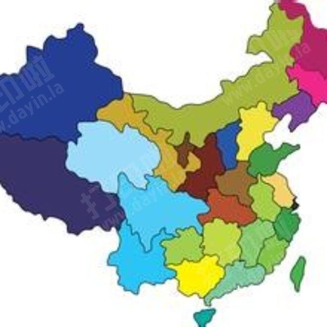 中国地图省份拼图