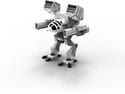 疯猫MKII机甲-3d打印模型