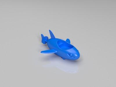 海底小纵队-3d打印模型