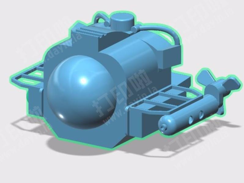 乐高深海探险-3d打印模型