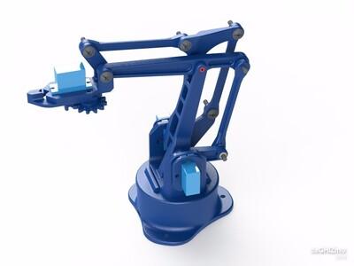 EEZY BOT的手臂-3d打印模型