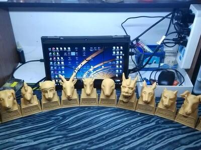 12生肖 圆明园兽首-3d打印模型