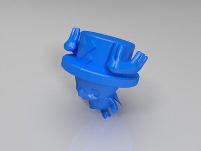 海贼王  可爱的乔巴-3d打印模型