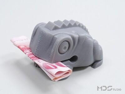 老蟾蜍木鱼-3d打印模型