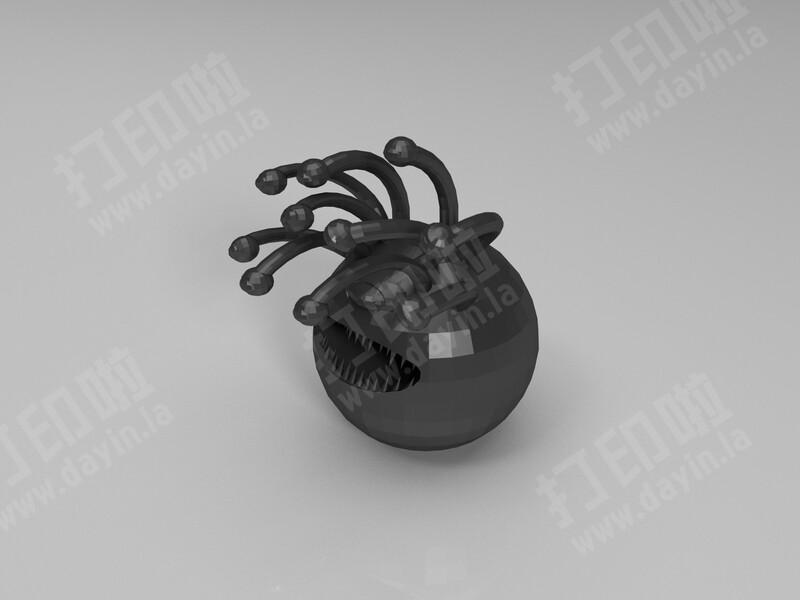 眼魔-3d打印模型