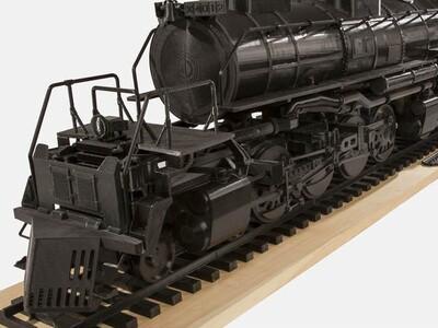 4-8-8-4  Big Boy!美国大男孩蒸汽机车(完整)-3d打印模型