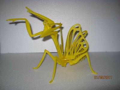 螳螂3D拼图