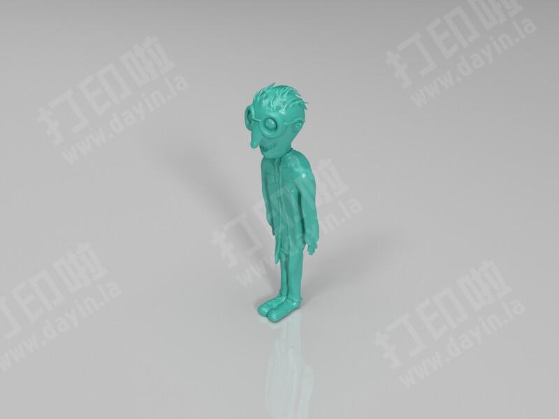 疯狂科学家-3d打印模型