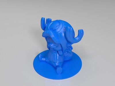 海贼王乔巴-3d打印模型